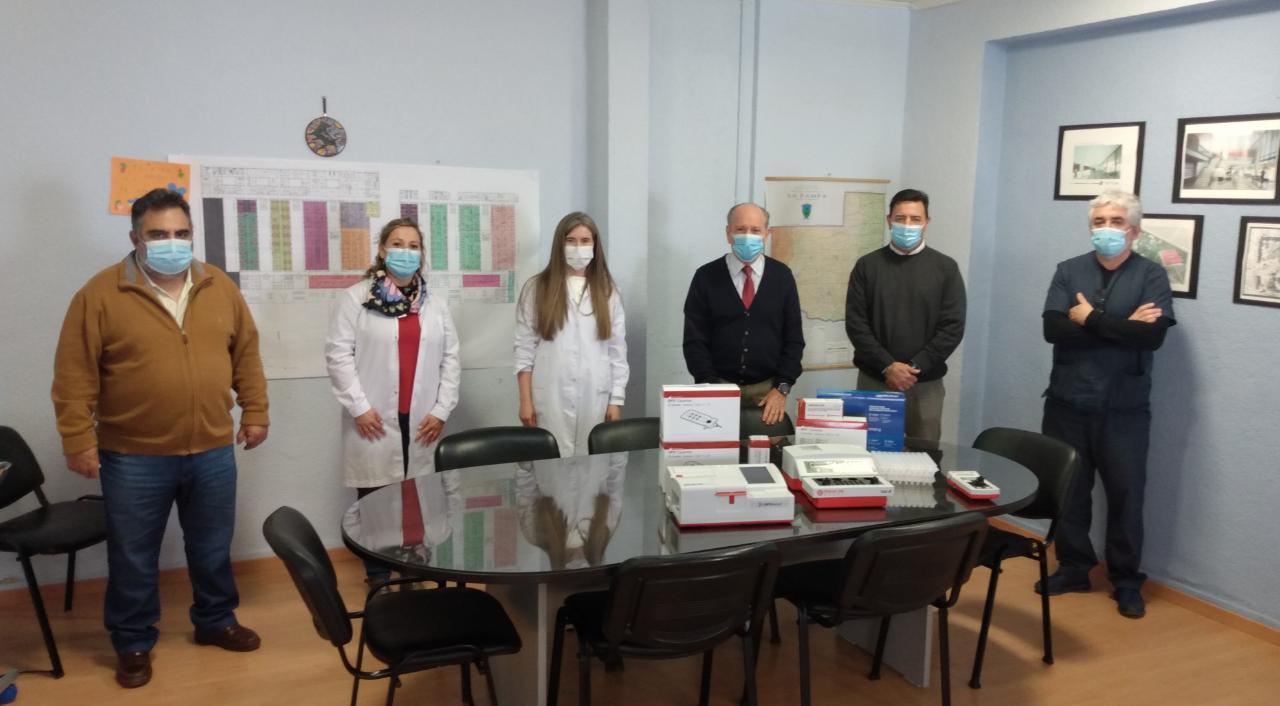 Salud pública adquirió coagulómetros y equipos de sangre para distintas localidades pampeanas