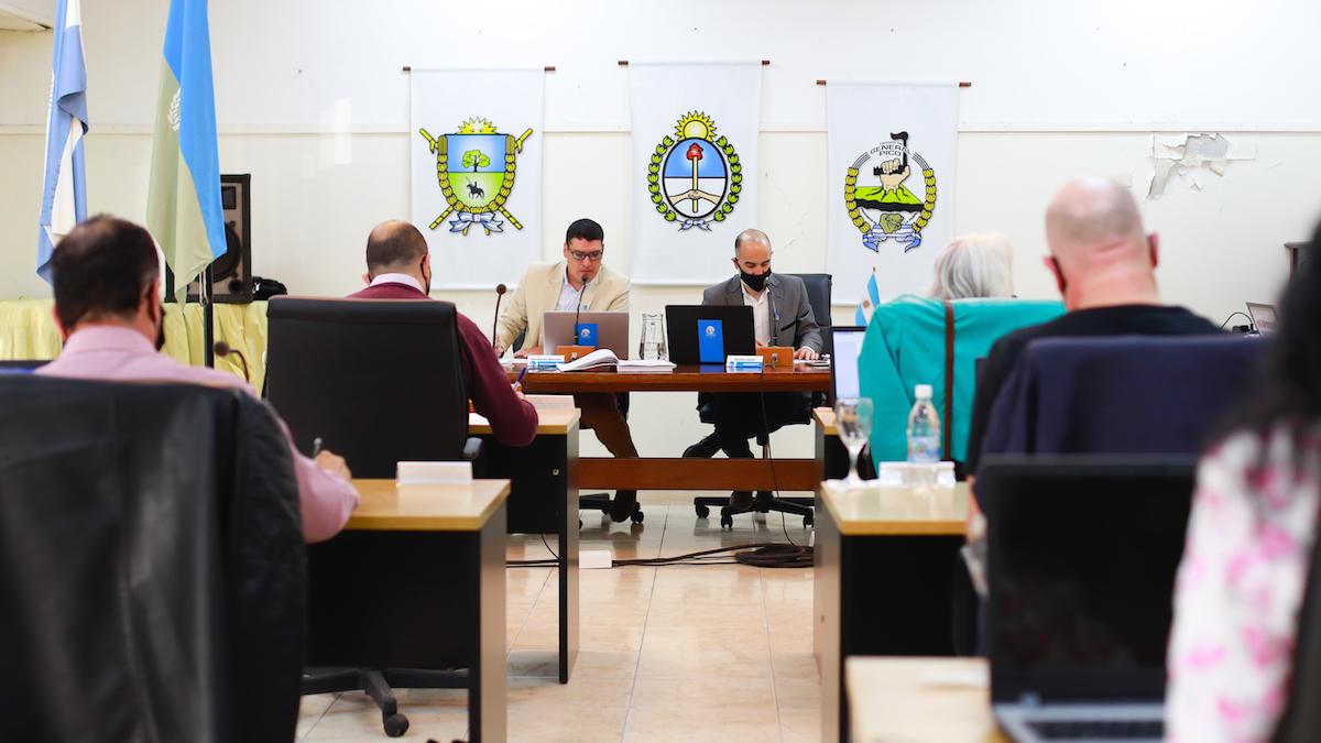 18° sesión del Concejo: ingresó el Estatuto para el personal Municipal
