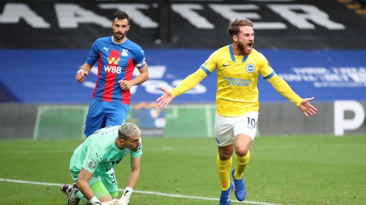 El pampeano Alexis Mac Allister marcó su primer gol en la Premier League y fue el héroe del Brighton