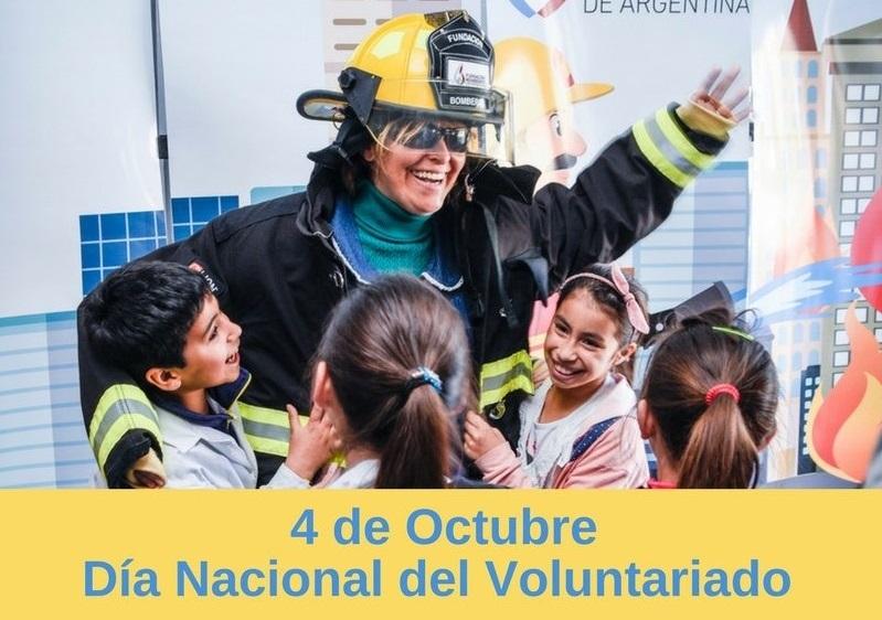 Hoy se conmemora el Día del Voluntariado: ¡Un fuerte aplauso para aquellos que por voluntad propia y sin percibir remuneración trabajan día a día por el bien de todos!