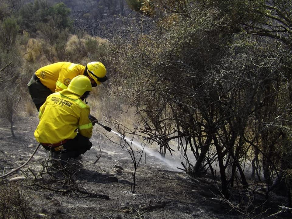 Se emitió un nuevo alerta para todos los brigadistas de La Pampa que quieran ir a trabajar a los incendios de Córdoba