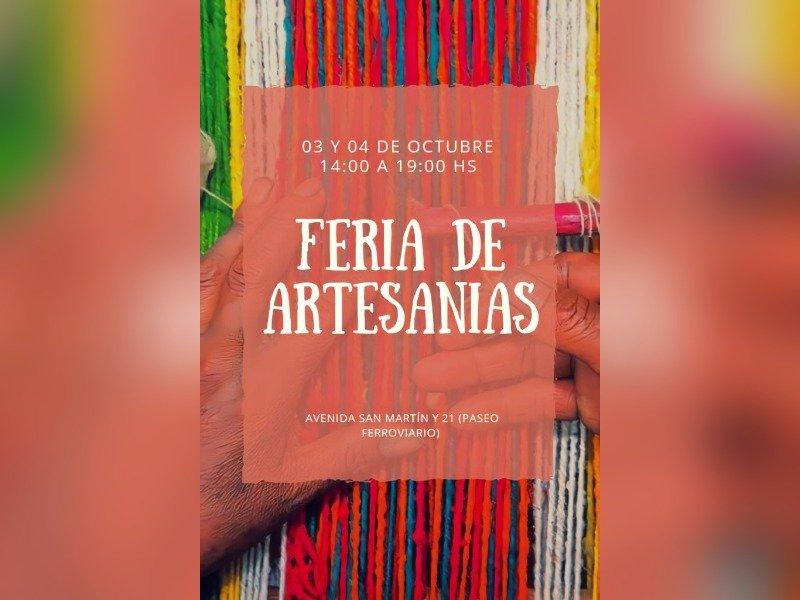 Confirman la presencia de 30 artesanos en la Feria de este fin de semana en General Pico