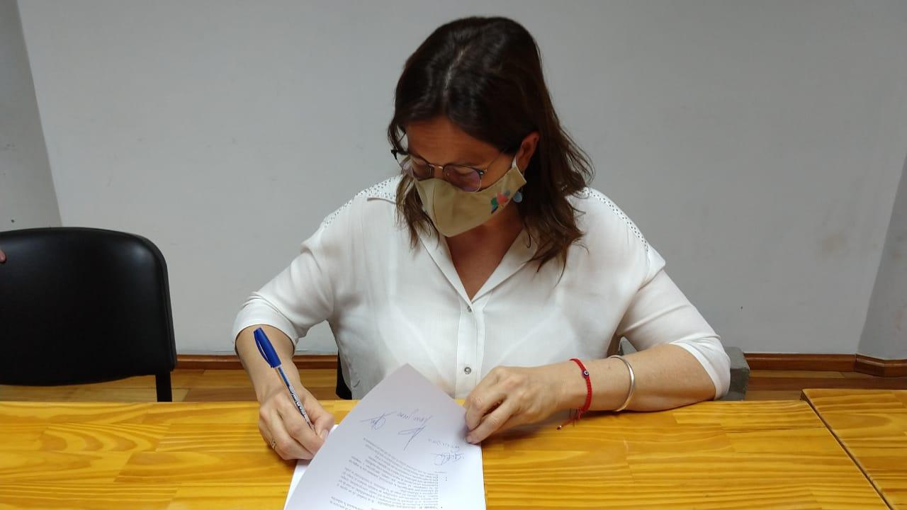 """Fernanda Alonso se reunió en Capital Federal por obras de cloacas para General Pico: """"Está la necesidad de darles prioridad"""""""