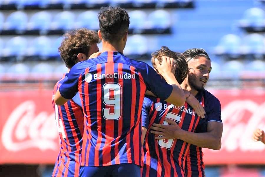 Buen triunfo de San Lorenzo gracias a un lindo gol del piquense Matías Palacios