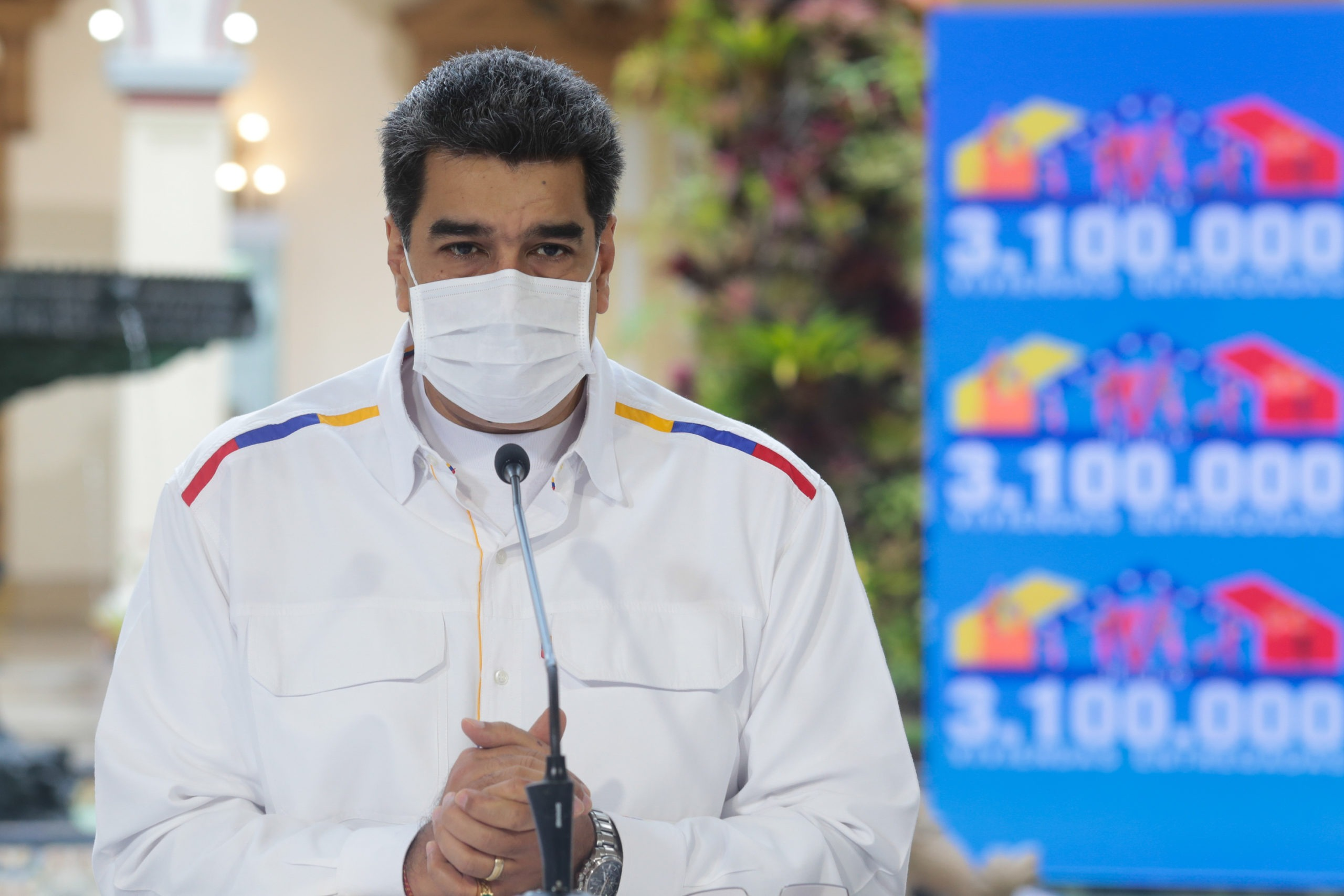"""Nicolás Maduro anunció que Venezuela encontró una medicina que """"anula el 100% el coronavirus"""""""