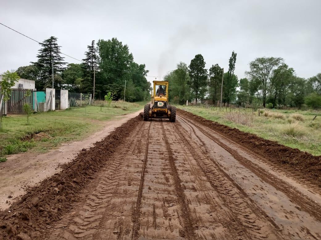 Se realizaron operativos de limpieza y mantenimiento de calles en el sector sur de General Pico