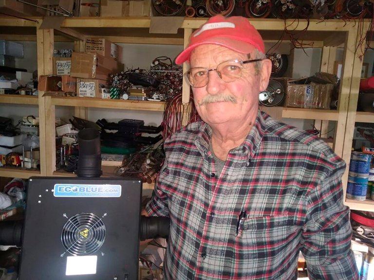 Es mendocino, tiene 67 años e inventó un esterilizador de aire que elimina al coronavirus