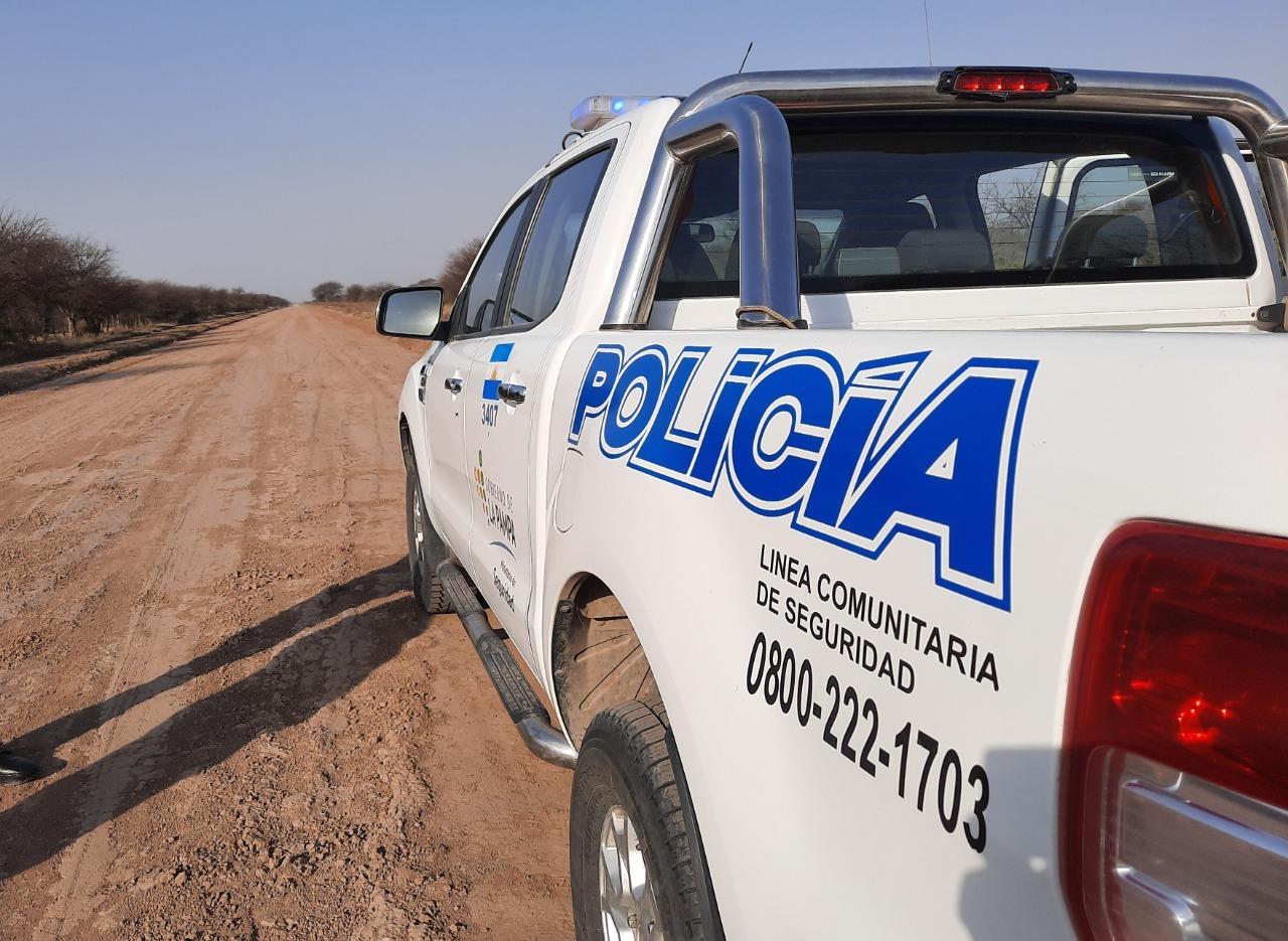 Eduardo Castex: Cuatreros faenaron 4 animales y la policía investiga el hecho