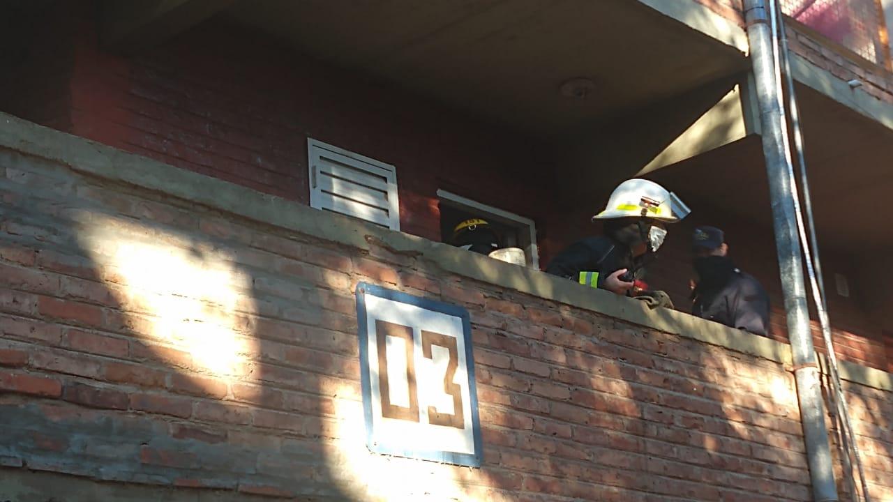 Un departamento de Barrio Malvinas sufrió un principio de incendio