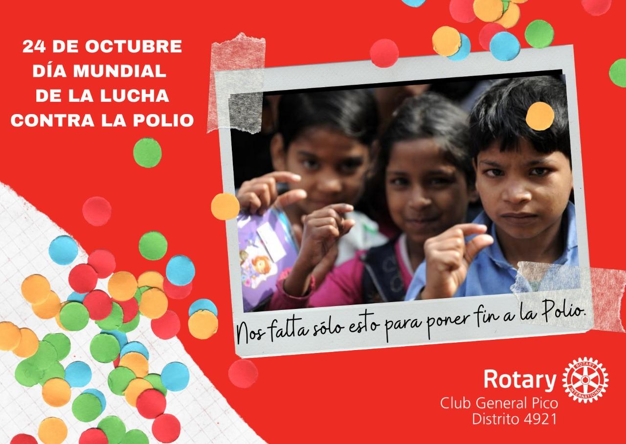 24 de octubre, Día Mundial de Lucha contra la Polio