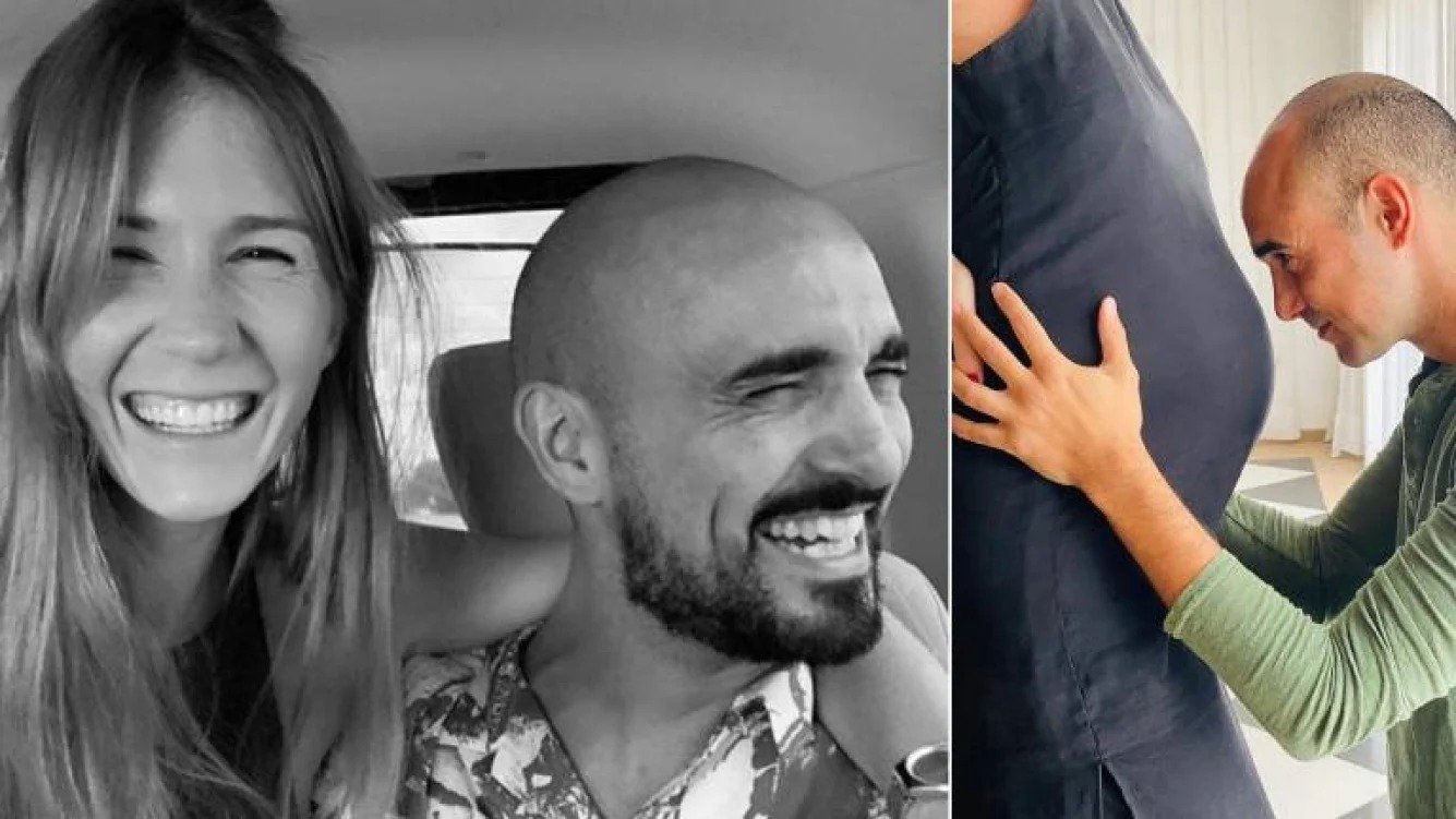 La dulce espera de Abel Pintos llegó a su fin: Nació Agustín y el cantante subió una tierna foto mostrando toda su felicidad