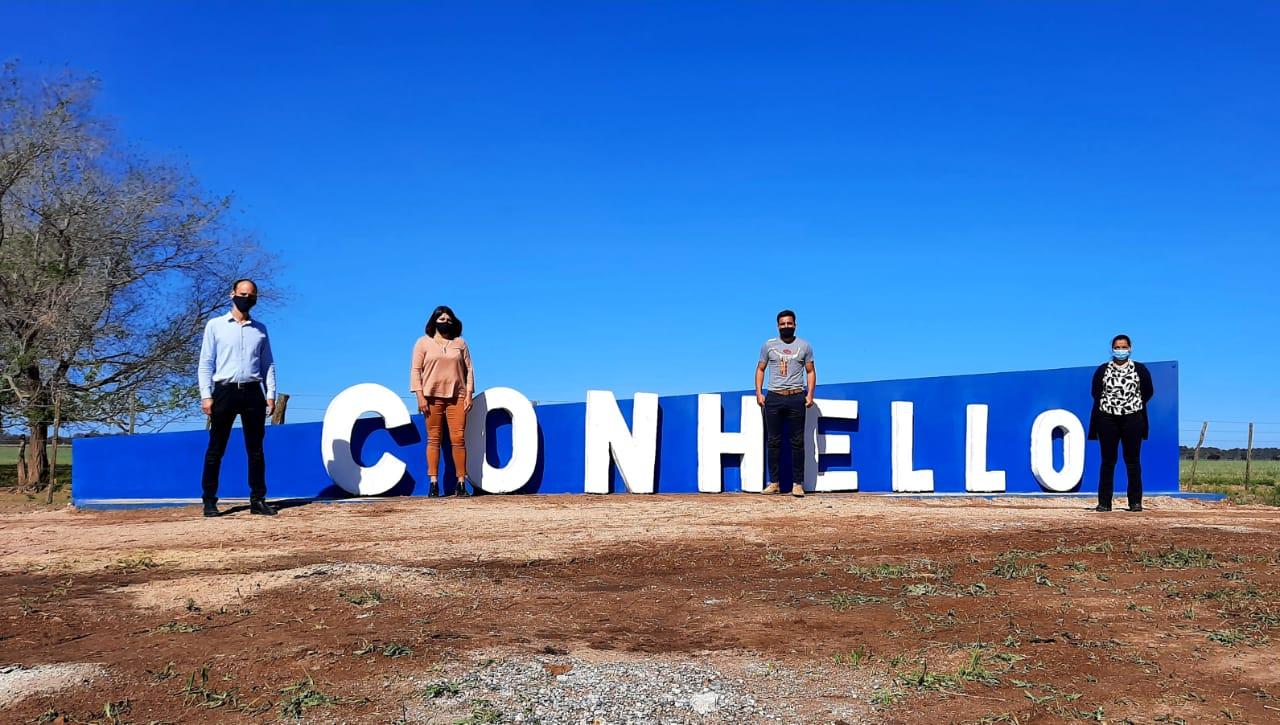 """Conhello cumple 112 años: """"Quiero agradecer a todos los vecinos que aportan al crecimiento de la localidad"""""""