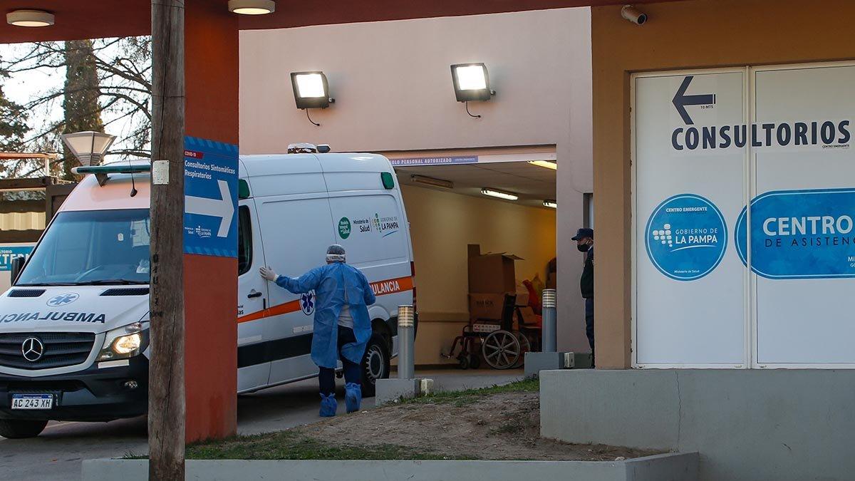 COVID-19: murió un hombre de 65 años en Santa Rosa