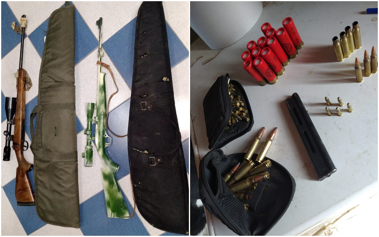 Recuperan dos fusiles y una carabina robadas en un predio rural en la zona de Telén
