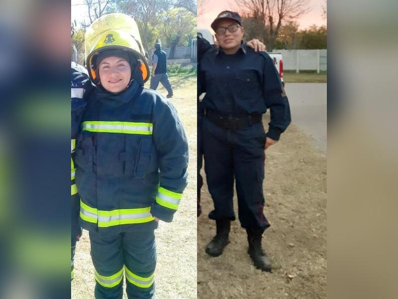 ¡Verdaderos héroes!: Bomberos Voluntarios le salvaron la vida a una pequeña de tres años en Embajador Martini