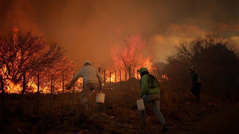 Más de 190 mil hectáreas quemadas por los incendios forestales en Córdoba