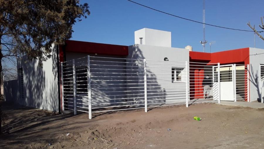 Terminaron la obra de casa de servicio policial en Santa Isabel