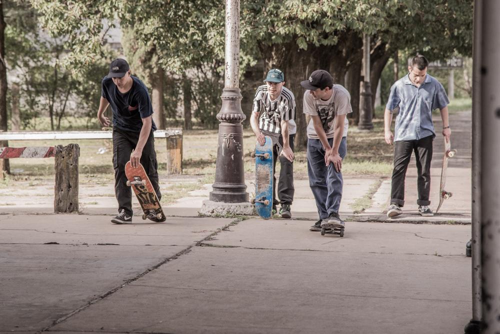 Con el 31,8% de los votos, ganó el proyecto para la construcción de una nueva pista de skateboarding en General Pico