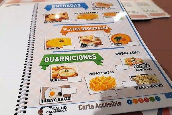 Coppo propone proyectos de integración mediante pictogramas en menú y cartelería