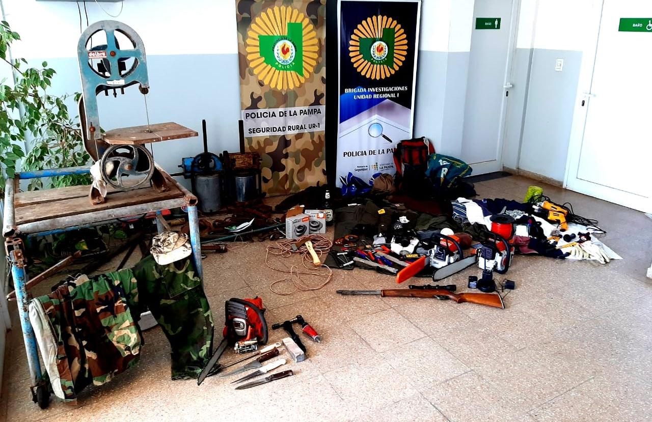 Desbaratan banda que se dedicada al abigeato en La Pampa