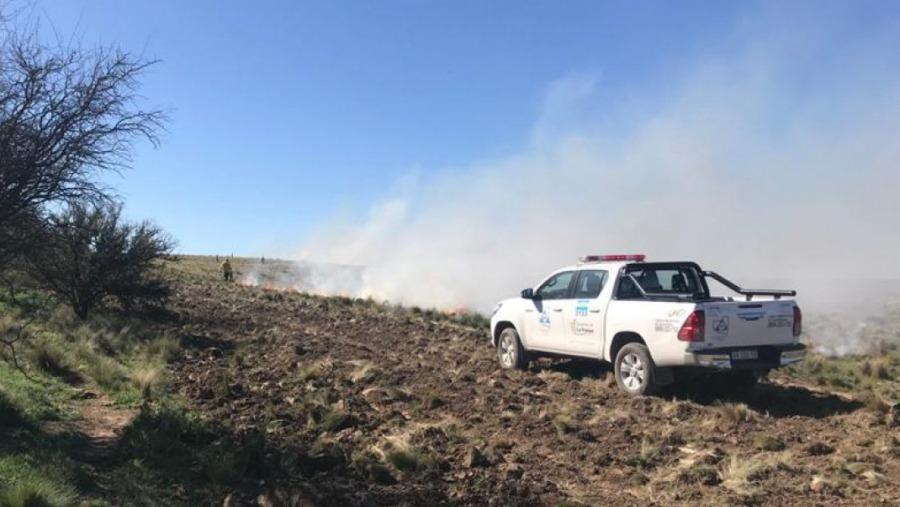 """Desde Defensa Civil aclaran que """"no se registran focos activos de incendio en La Pampa"""" y que se trató de un error de carga"""