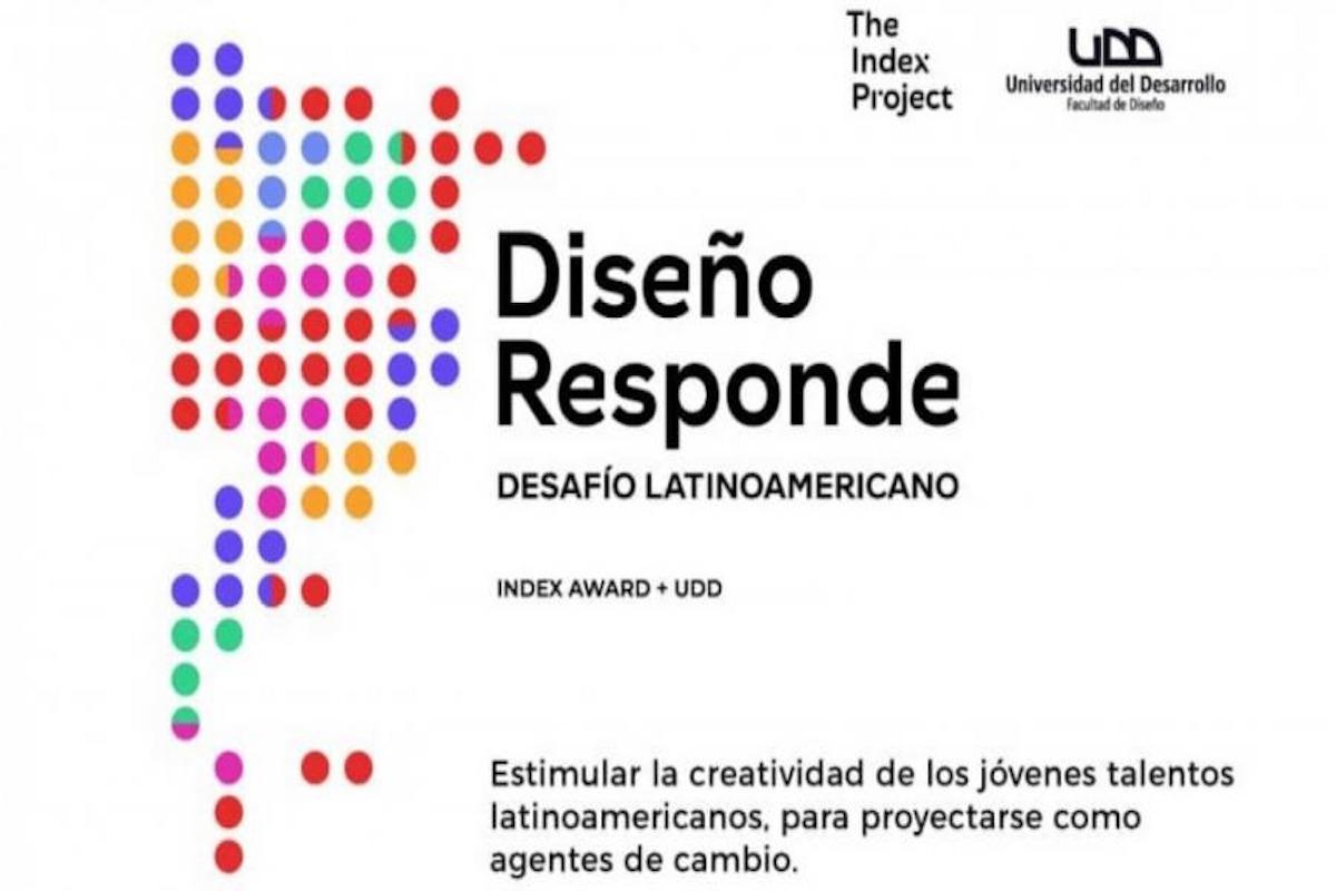 """Invitan a participar del concurso """"Diseño Responde. Desafío Latinoamericano INDEX Award + UDD"""""""