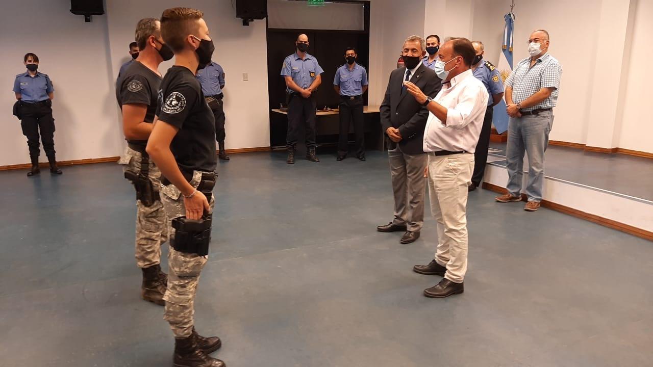 La Pampa: Entregaron menciones de Honor a los policías que se distinguieron por su labor durante la pandemia de COVID-19