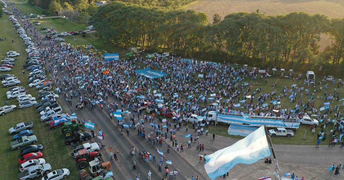 """Nuevo """"banderazo"""" contra el Gobierno nacional en La Pampa y diferentes puntos del país"""