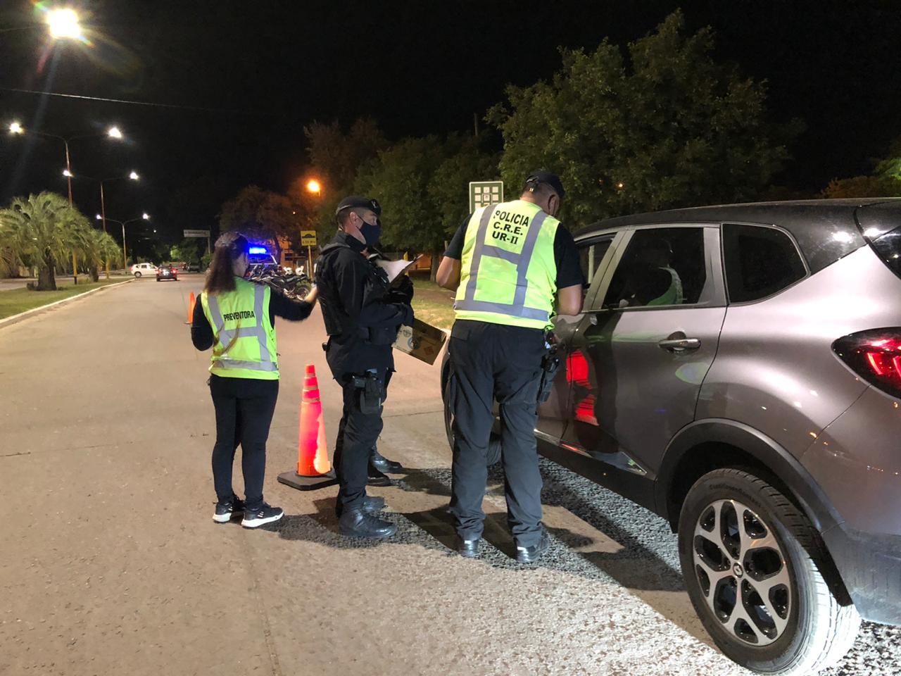 Controles en General Pico: Nueve infracciones, no se retuvieron vehículos y ningún test de alcoholemia dio positivo