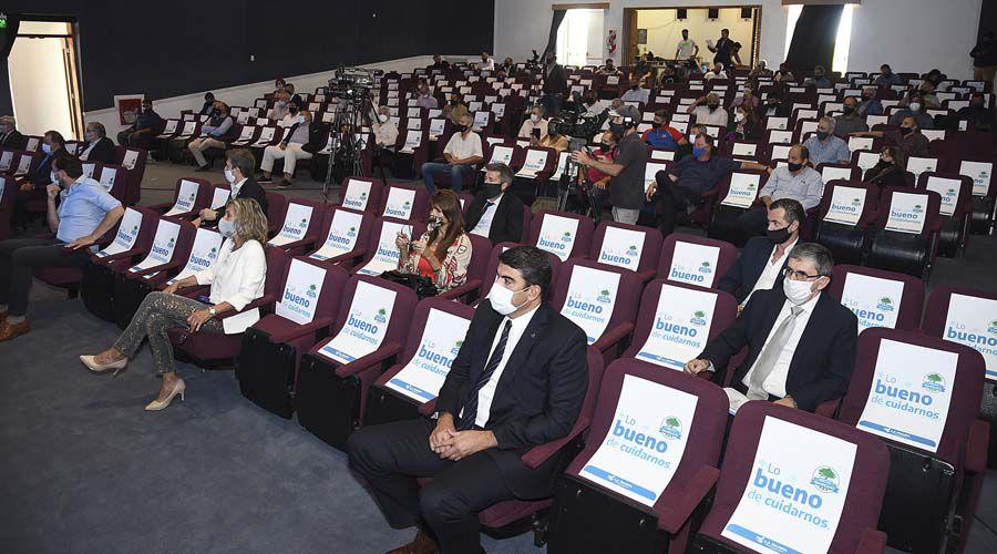 Representantes de la Federación Agraria participaron de la presentación del Plan de Promoción de la Inversión Productiva
