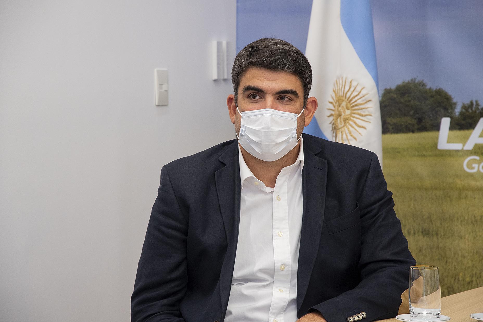 """El ministro Bensusan resaltó el funcionamiento del """"Mapún Web"""": """"Se registraron alrededor de 10 mil trámites virtuales"""""""