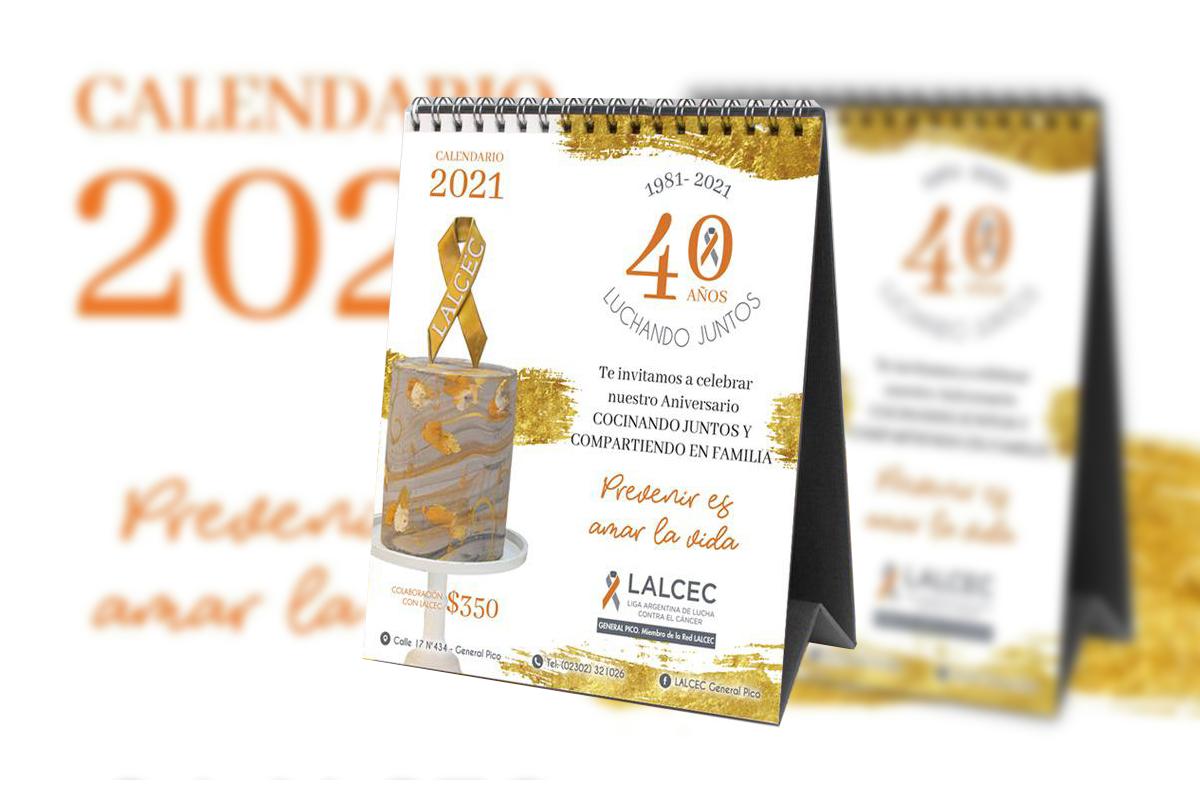 Lalcec comenzó con la venta los calendarios 2021