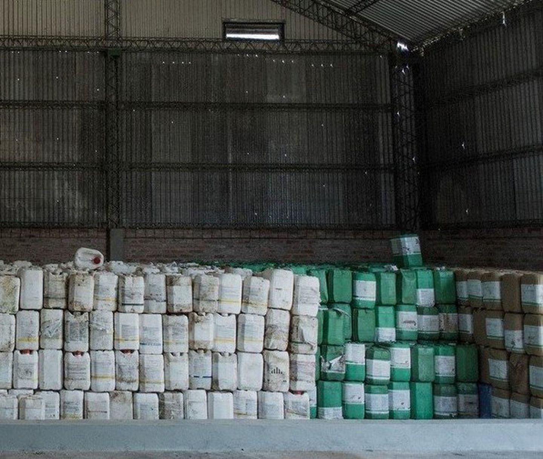 Córdoba: recolectaron casi 5 mil bidones vacíos de agroquímicos, equivalente a 4340 kilos de plástico recuperado