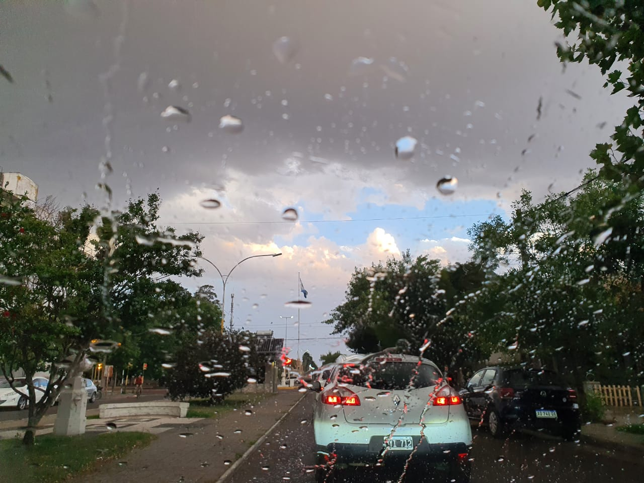 Mirá los datos de lluvia para el norte de La Pampa