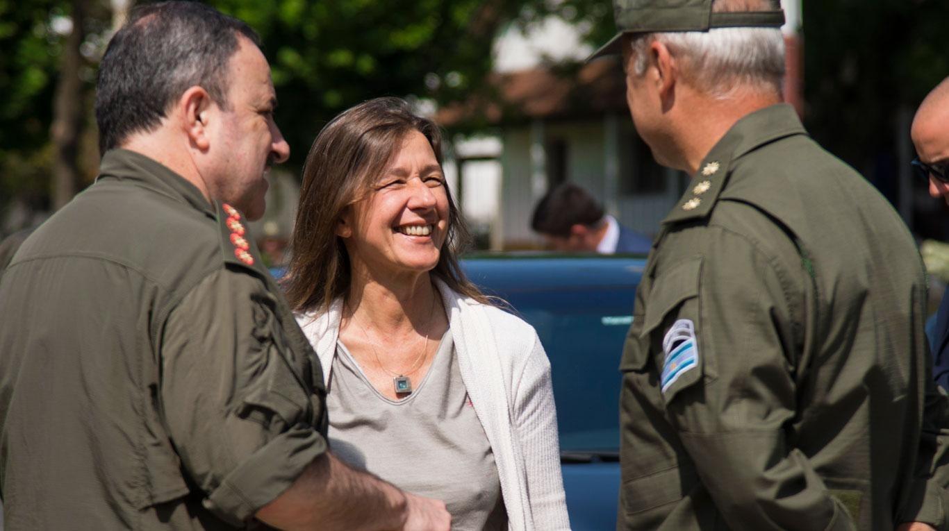 La ministra de Seguridad, Sabina Frederic vendrá mañana a La Pampa