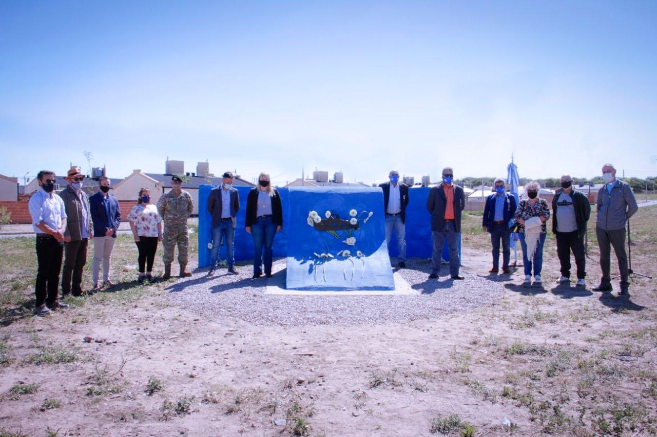 Santa Rosa: Se realizó el acto homenaje por el tercer aniversario del hundimiento del submarino ARA San Juan
