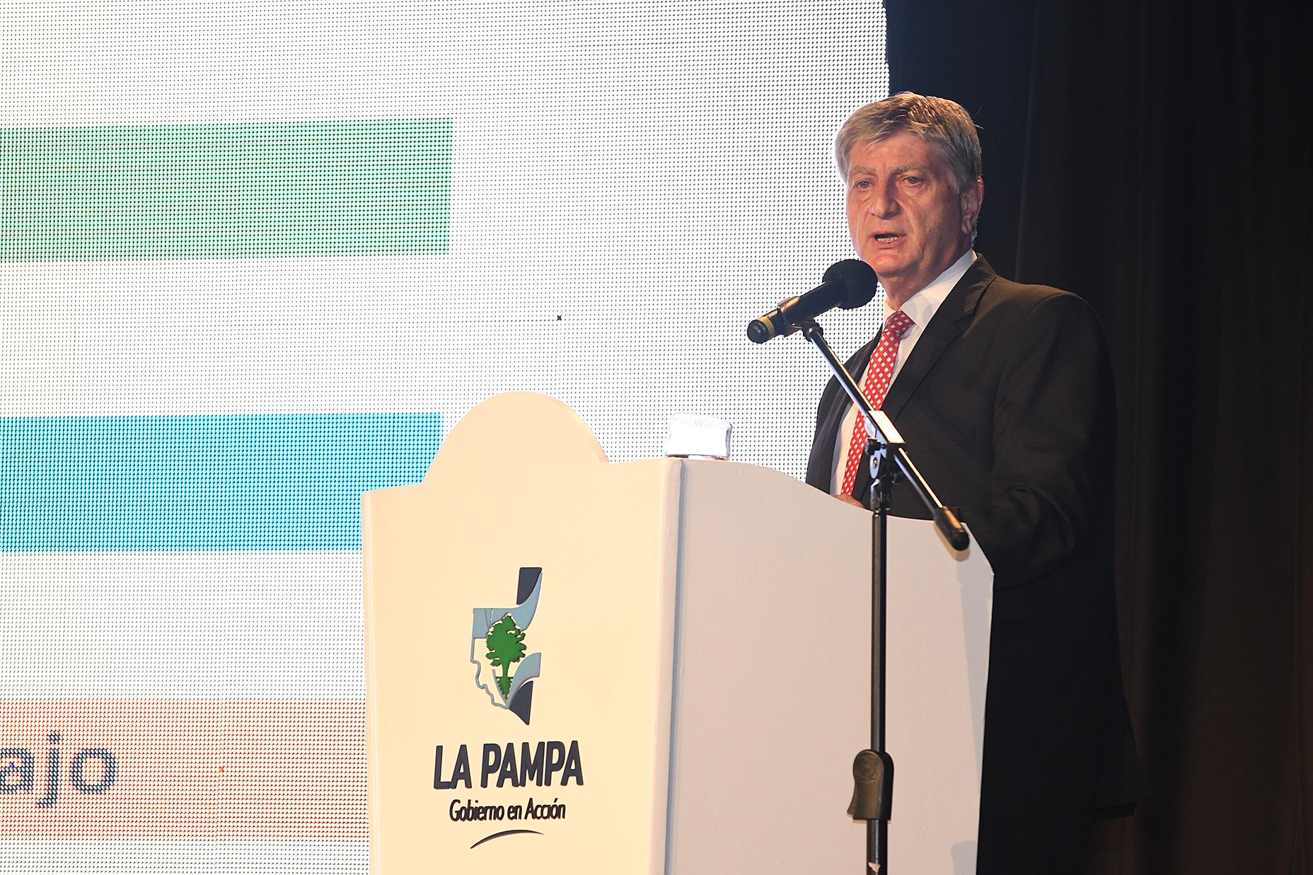 Sergio Ziliotto presentó un ambicioso plan de Gobierno que incluye financiamiento, subsidios, menos impuestos y fomento al sector privado