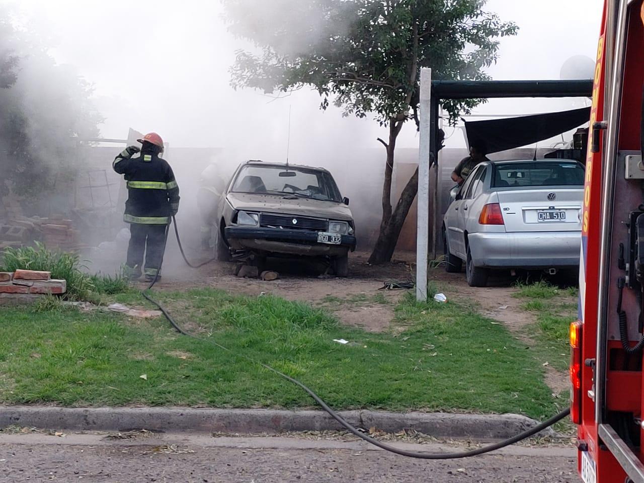 Por precaución bomberos acudió a un principio de incendio