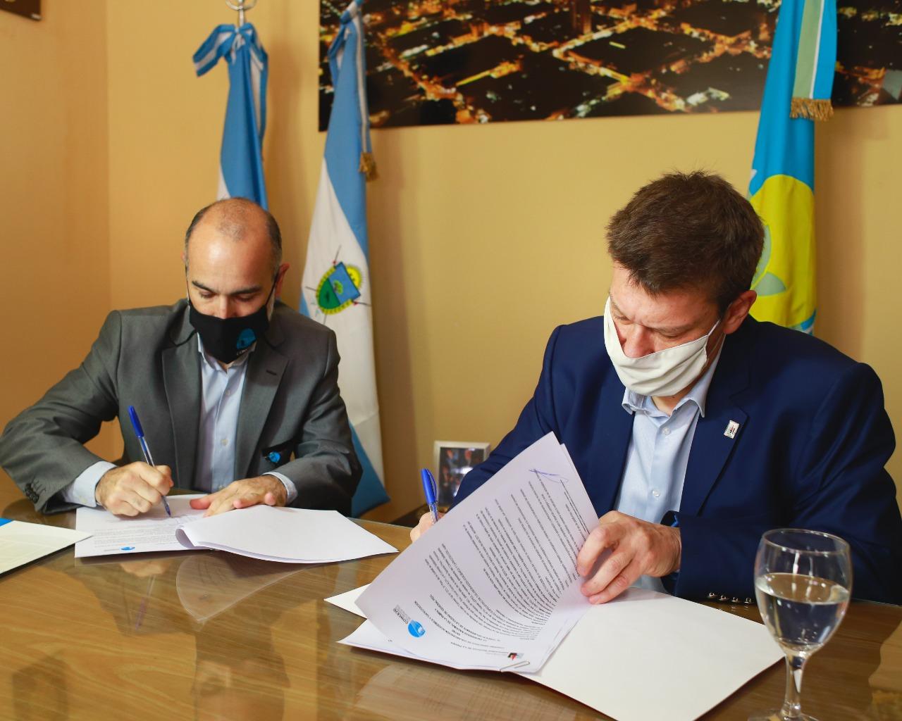 El Concejo Deliberante firmó un convenio de colaboración con la Universidad Nacional de La Pampa
