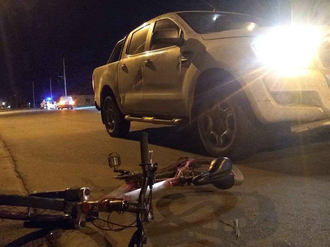 Un ciclista fue atropellado en calle 44 y 1