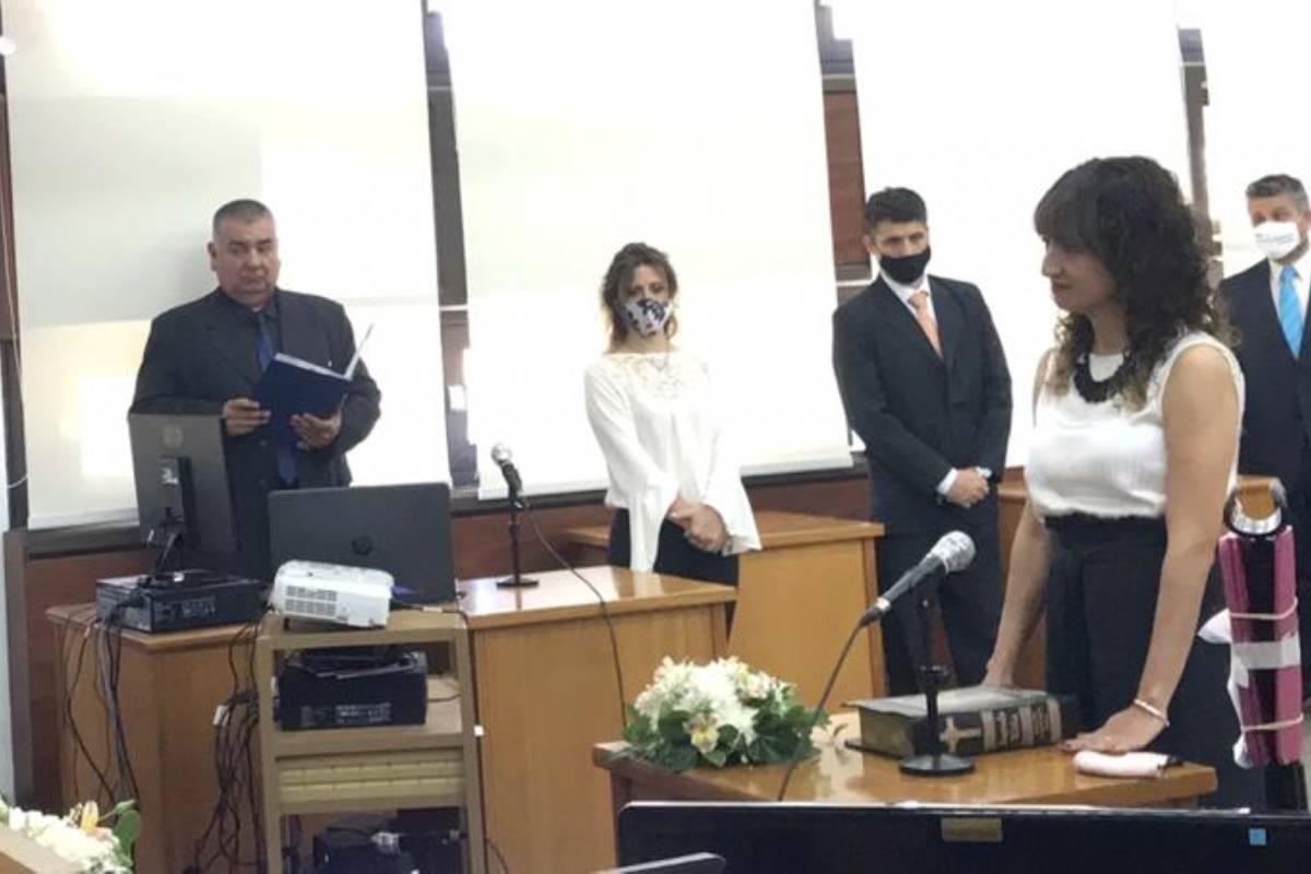 Asumió María José Gianinetto como jueza de audiencia de juicio de la Segunda Circunscripción Judicial