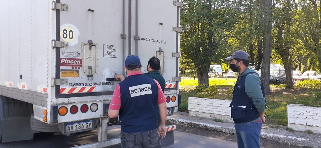 El SENASA realizó controles de alimentos en rutas de La Pampa