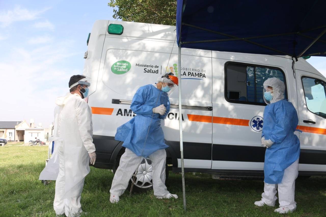 Los «tests rápidos» llegaron a General Pico y se esta realizando la búsqueda activa de coronavirus