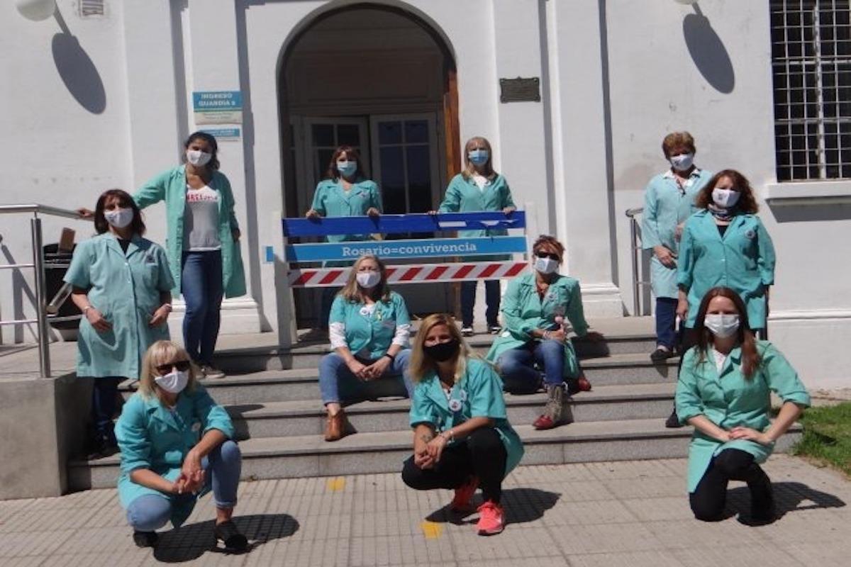 Rosario: voluntarias del Hospital de Niños Víctor J. Vilela bailaron para alegrar a los niños internados