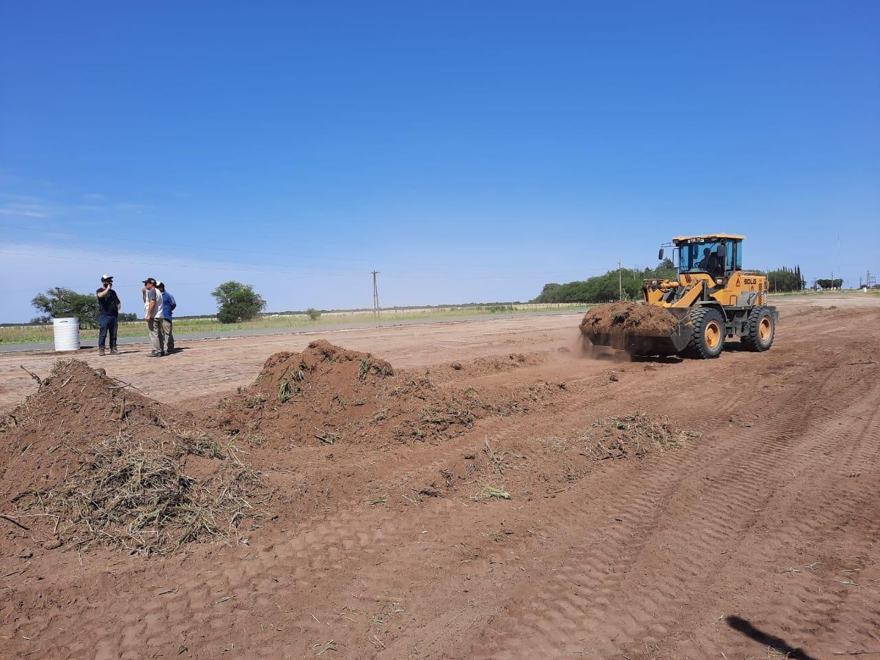 Empezaron las obras sobre la Ruta 4 entre Ruta 35 y el acceso a Caleufú