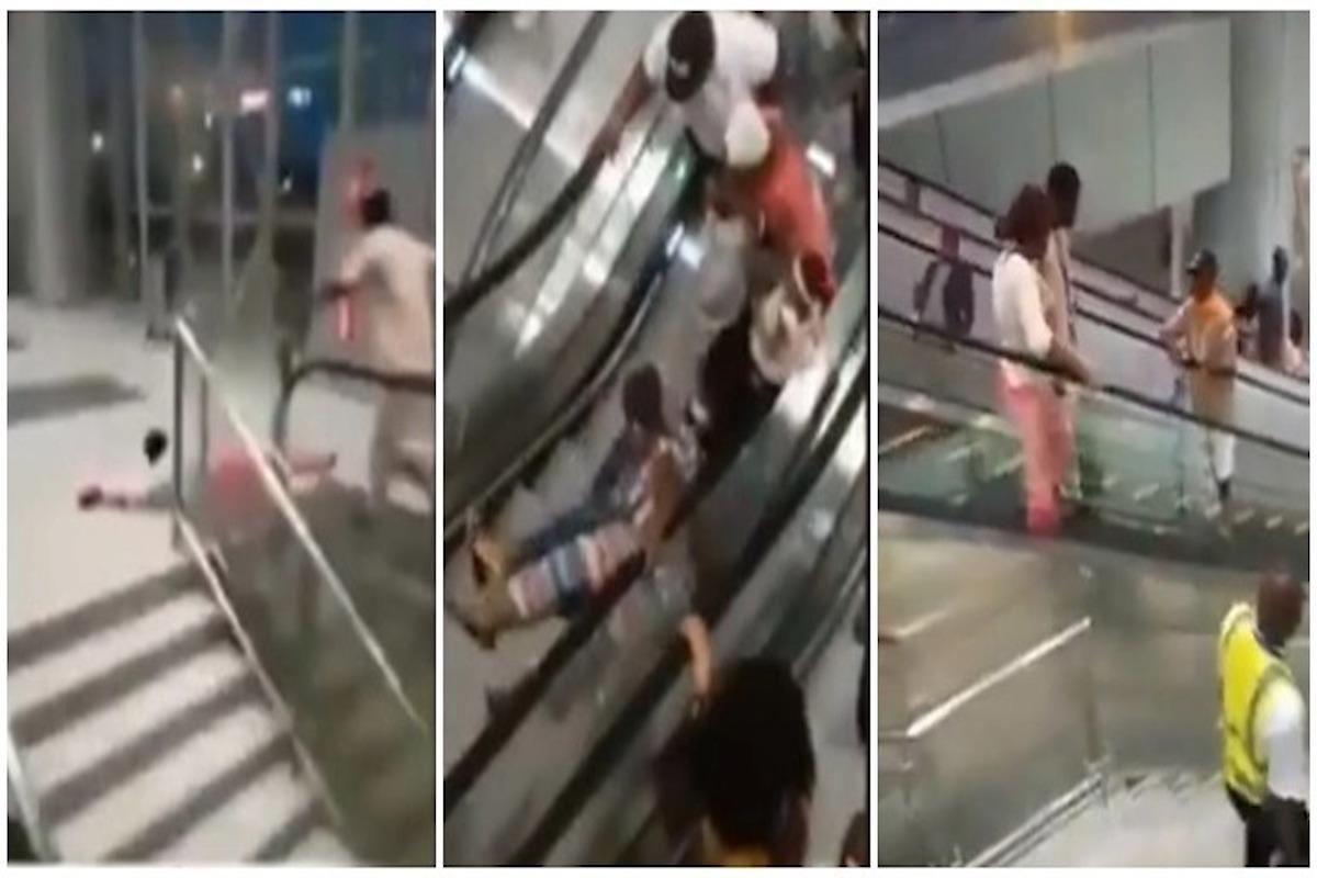 Video: Abrió el primer shopping con escalera mecánica en Camerún, hubo una ola de accidentes el primer día