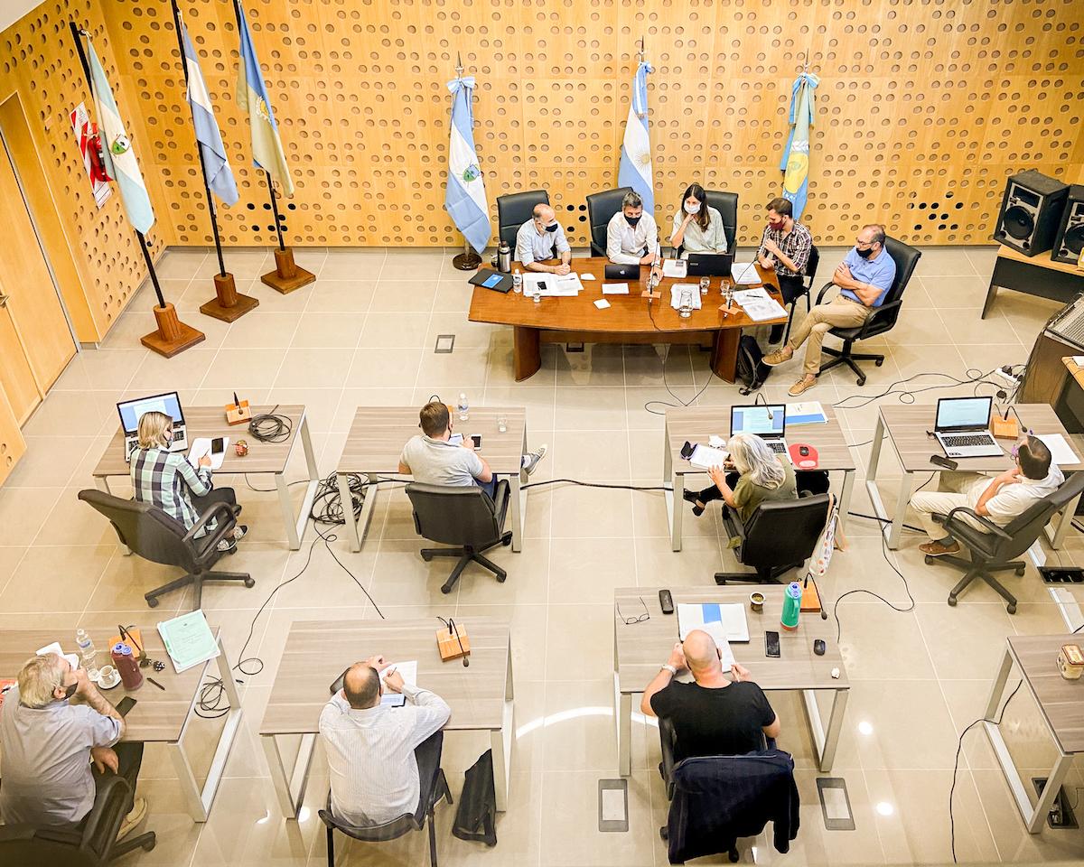 Se reunió la comisión de labor parlamentaria y mañana será la segunda sesión ordinaria del Concejo Deliberante