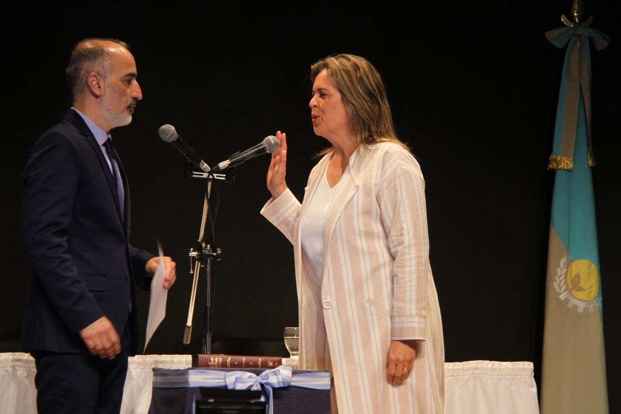 Se cumple un año de la asunción de Fernanda Alonso, la primera mujer en llegar a la intendencia de General Pico