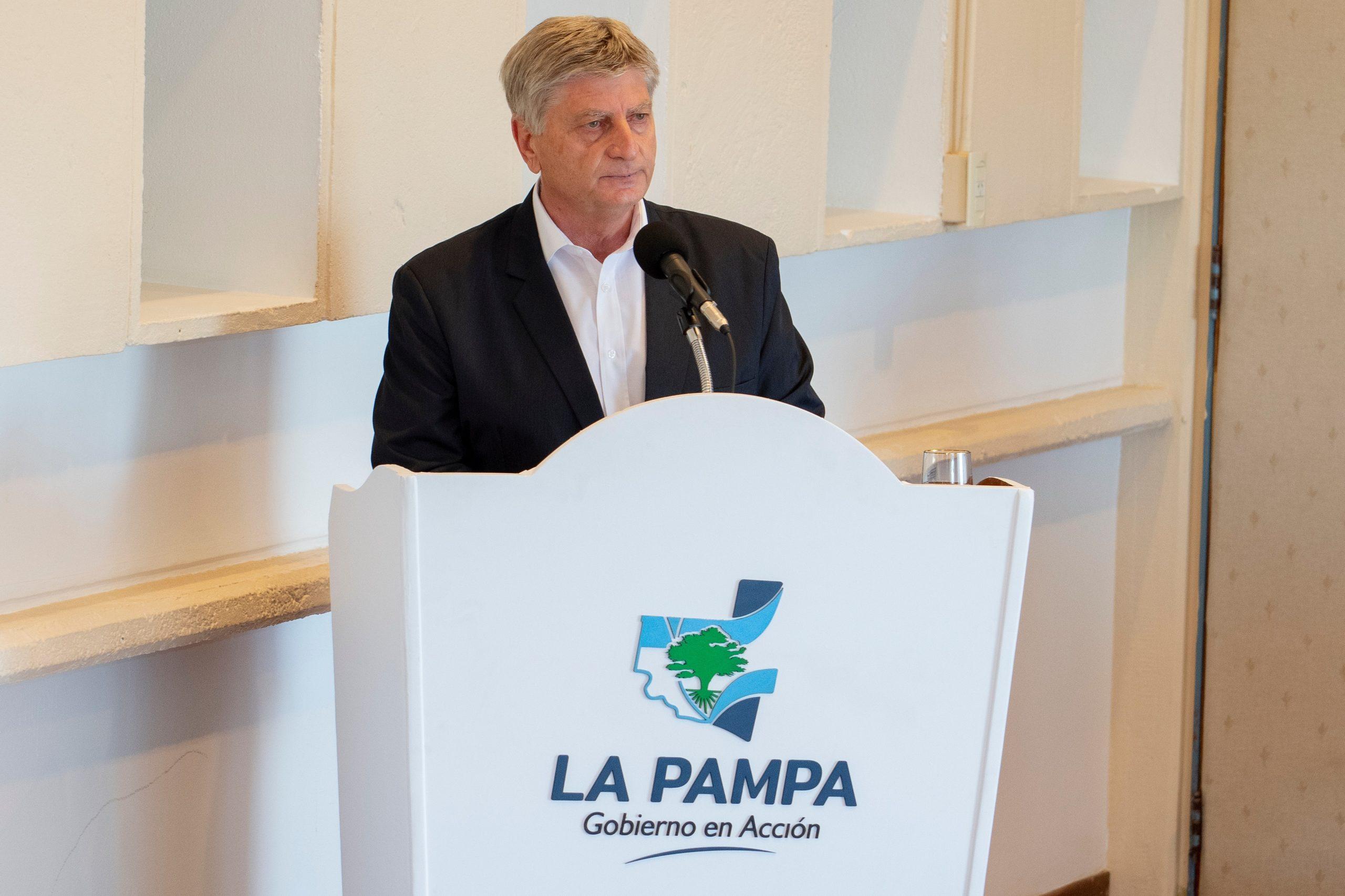 El gobernador Sergio Ziliotto llegará mañana a General Pico para firmar convenios y contrato de obras