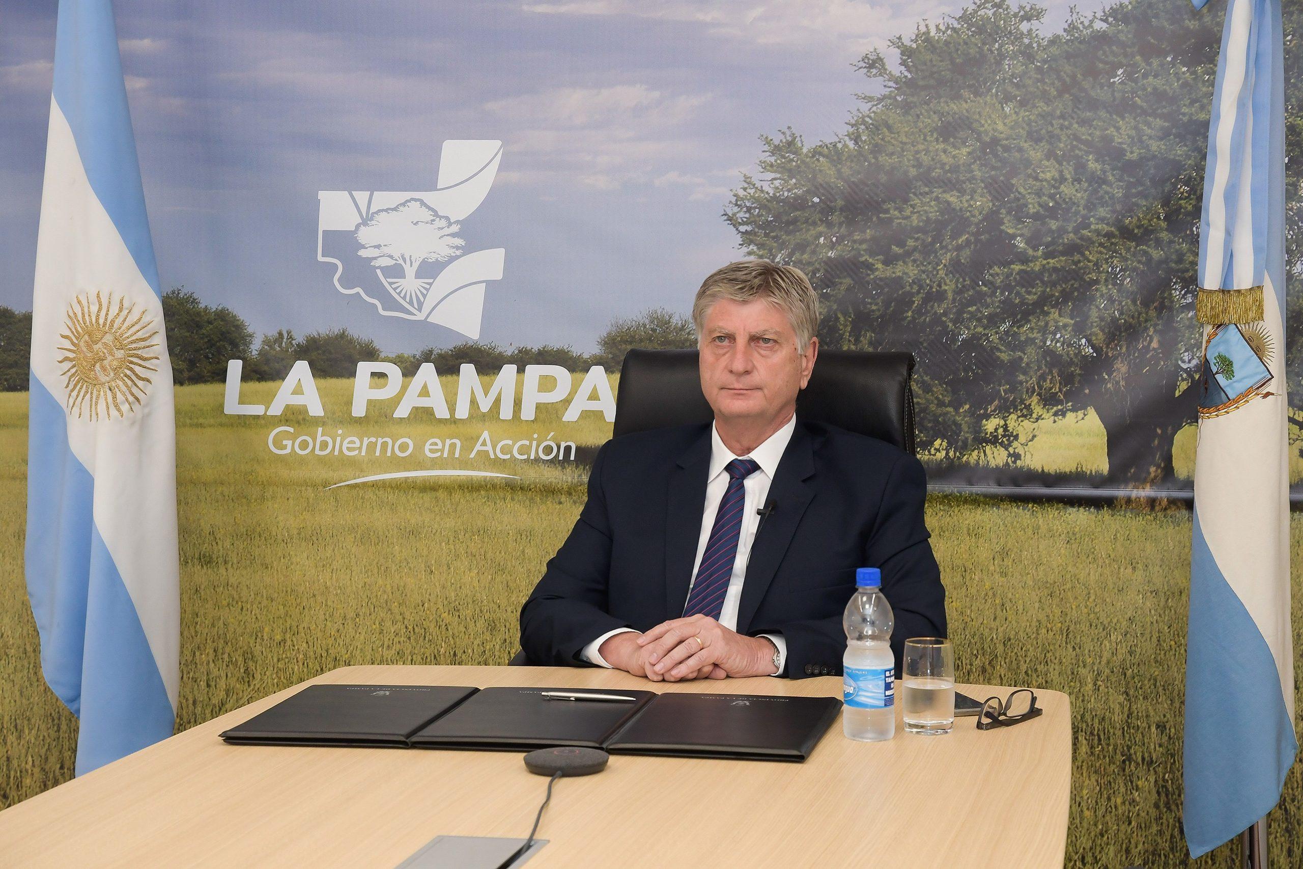EN VIVO: El gobernador Sergio Ziliotto brinda una conferencia de prensa tras el anuncio de UTELPa